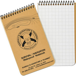 ESEE Navigation/Survival Notebook