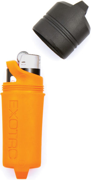 Exotac Firesleeve Lighter Case Orange