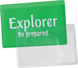 Explorer Credit Card Magnifier Lens
