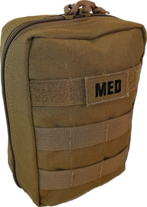 Elite First Aid Tactical Trauma Kit 1 Tan