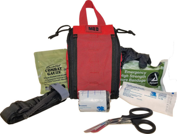 Elite First Aid Patrol Trauma Kit Level 1 Red