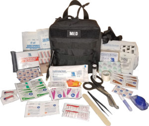 Elite First Aid GP IFAK Level 1 Kit Black