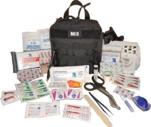 Elite First Aid GP IFAK Level 1 Kit Black