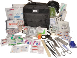 Elite First Aid GP IFAK Level 2 Kit Black