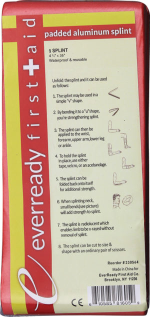 Elite First Aid First Aid Universal Splint