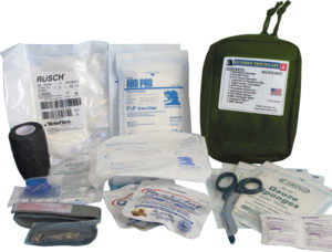 Elite First Aid Gunshot Trauma Kit OD