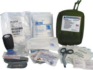 Elite First Aid Gunshot Trauma Kit OD