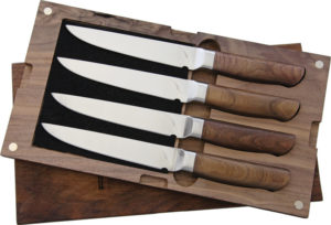Ferrum Reserve 4pc Steak Set (5″)