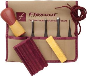 Flexcut 5 Piece Printmaking Set