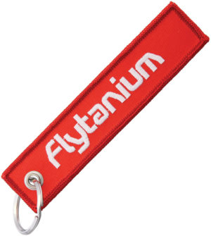 Flytanium Flyght Tag Red
