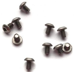 Flytanium Body Screws for Bugout Silver