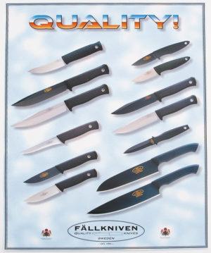 Fallkniven Advertising Poster Promo