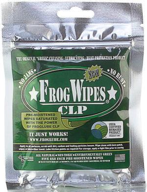 FrogLube Treated Wipes 5 Pack