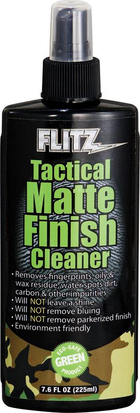 Flitz Tactical Matte Finish Cleaner