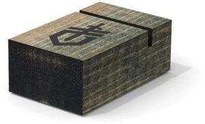 Gerber Single Knife Display Wood