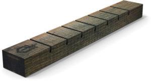 Gerber Seven Knife Display Wood