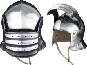 Get Dressed For Battle Bellows Face Sallet