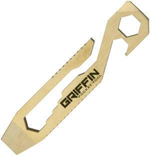 Griffin Pocket Tool GPT Pocket Tool Brass