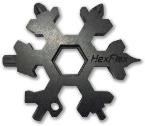 HexFlex Adventure Tool Black Metric