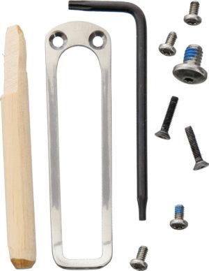 Hogue EX-02 Folder Screw/Clip Kit
