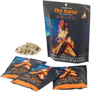 Insta-Fire Fire Starter Three Pack