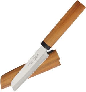 Kanetsune Fruit Knife ST-100 Kama-gata (3.38″)