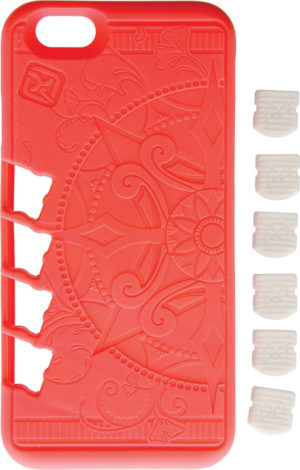 Klecker Knives Stowaway EDC iPhone Case Coral