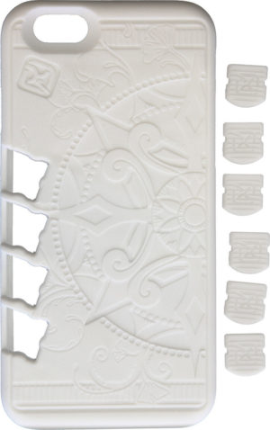 Klecker Knives Stowaway EDC iPhone Case White