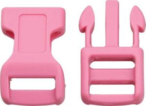 Knotty Boys Buckle – Pink