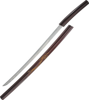 Miscellaneous Curved Shirasaya Sword