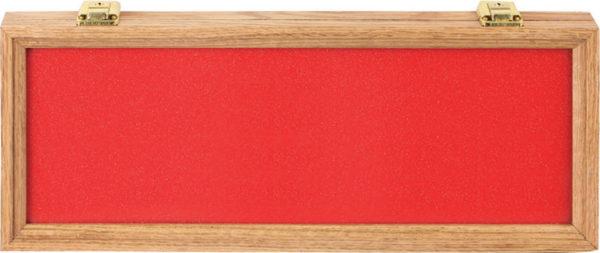 Displays Oak And Glass Display Case