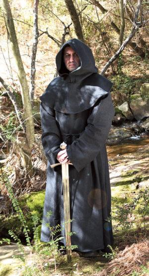 Windlass Monk's Robe Black