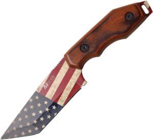 MTech American Flag Fixed Blade (4.25″)