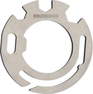 Munkees Stainless Steel Circular Tool