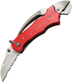 Myerchin Sailors Tool Linerlock Red (2.25″)