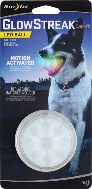 Nite Ize GlowStreak LED Ball Disc-O