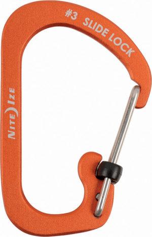 Nite Ize Carabiner SlideLock No3 Orange