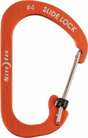 Nite Ize Carabiner SlideLock No4 Orange