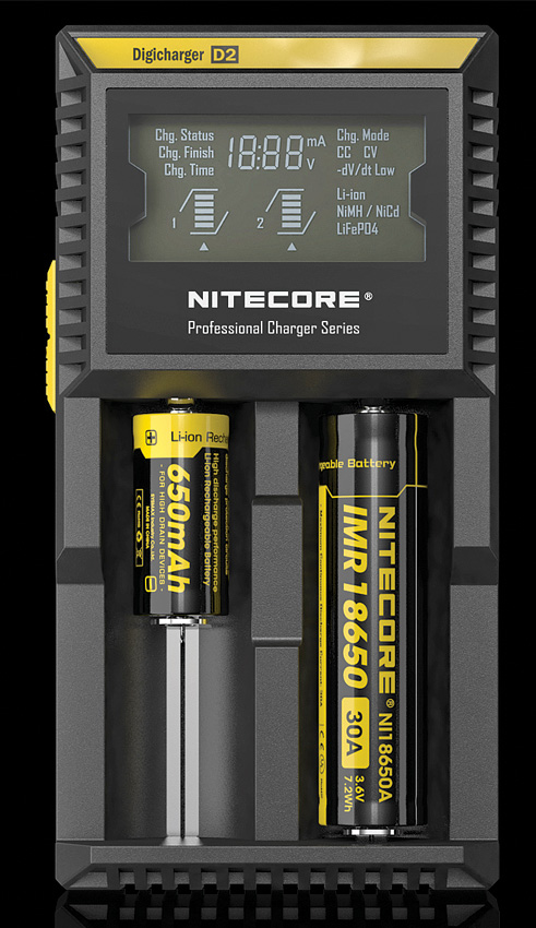 Nitecore Digicharger Battery Charger D2