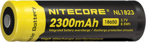 Nitecore Rechargable 18650 Battery 2300