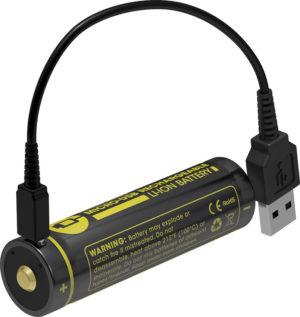 Nitecore USB Rechargeable Battery 3400