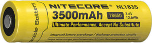 Nitecore Rechargable 18650 Battery 3500