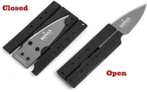 Wallet Ninja Ninja Knife Single