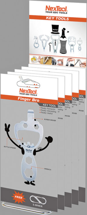 NexTool Cal Fun Tools Counter Display