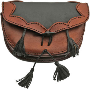 Pakistan Medieval Belt Bag Brown/Black