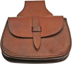 Pakistan Medieval Belt Bag Brown