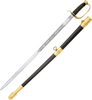India Made Confederate Officers Sword