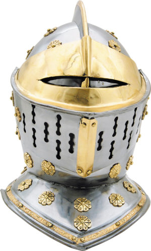 India Made European Knights Helmet