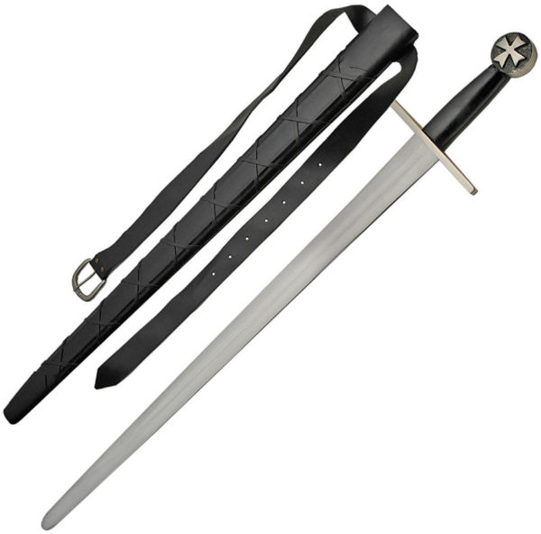 India Made Cross Guard Sword with Belt (30″)