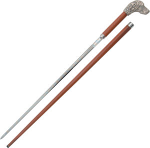 CAS Hanwei Dog Head Sword Cane (25.5″)